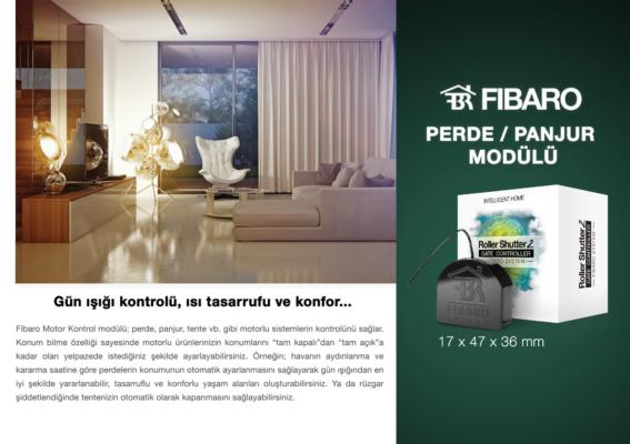 Fibaro Motor Kontrol Modülü