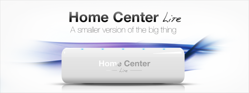 Fibaro Home Center Lite Ana Kontrolör-Ön Panel
