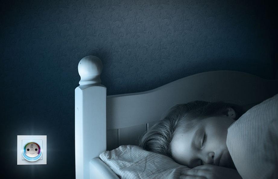 Fibaro Akıllı Priz Gece Lambası