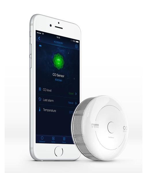 Fibaro Karbonmonoksit CO Sensörü Mobil Uyarı