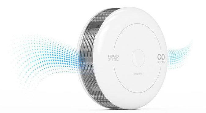 Fibaro Karbonmonoksit CO Sensörü Tek Cihaz Birçok Özellik