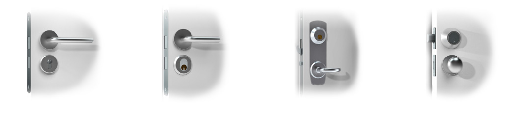 Danalock V3 Akıllı Kilit Standart Kapılarla Uyumludur